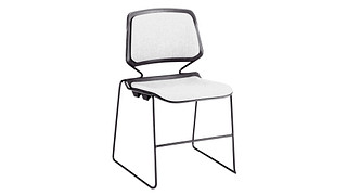 Matrix Stack Chair | Stack Chair with Upholstered Seat and Back