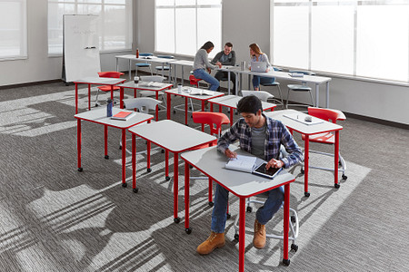 Ruckus class12a PLdesks tables stackchairs students