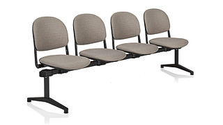 Torsion Tandem Seating | 4 place unit - uph