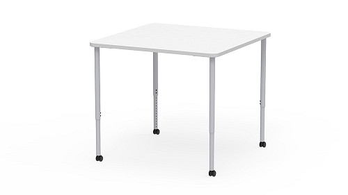 Square, Sit-Stand Height Adjustable