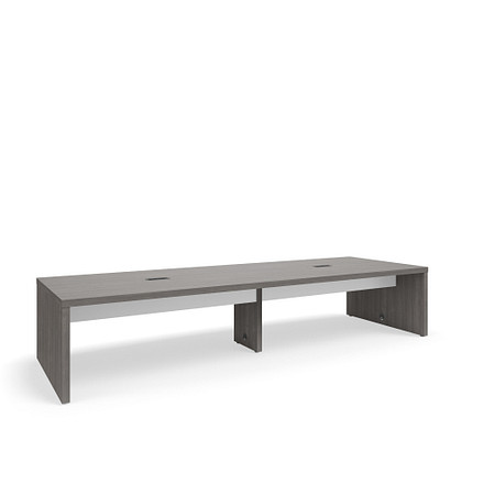 SerenadeGatheringTable StandardHeight 48x144 Contrast Stringer Power FrontAngle
