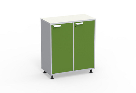 Ruckus SF cubby or locker 3642 doors glides angle1