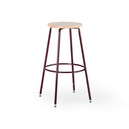600 Series Stool Wood Seat Adjustable Leg