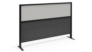Tattoo Screens | Segmented Flex Screen w/Polyester Felt Lower, Fabric Upper Core
