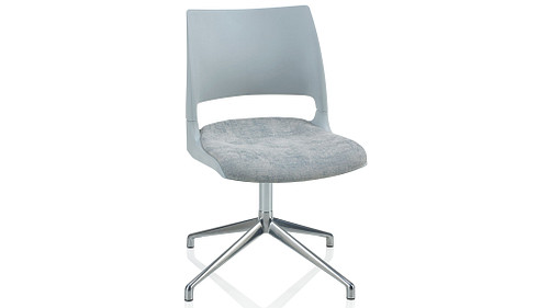 Fourstar Swivel with Solid Shell (Upholstered Seat)