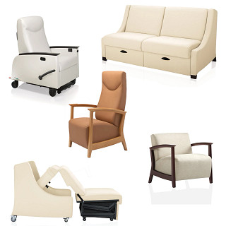 Soltice Healthcare Seating Revit Symbols
