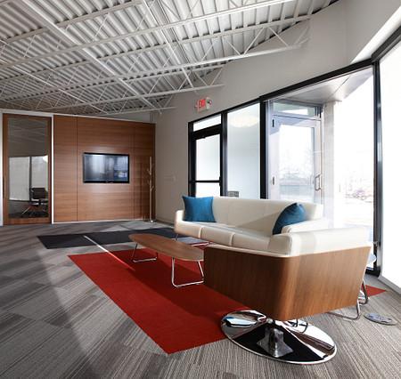 Genius wall KI Welcome Center Lyra lounge