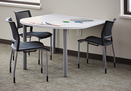Pillar Table D shape Opt 4-3
