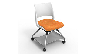Learn2 Seating | Doni Solid Shell (Upholstered Seat)