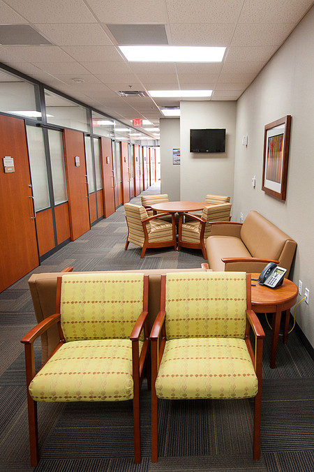 Genius Wall and Soltice Lounge Seating