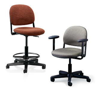 Torsion Task Chair and Task Stool Revit Symbols
