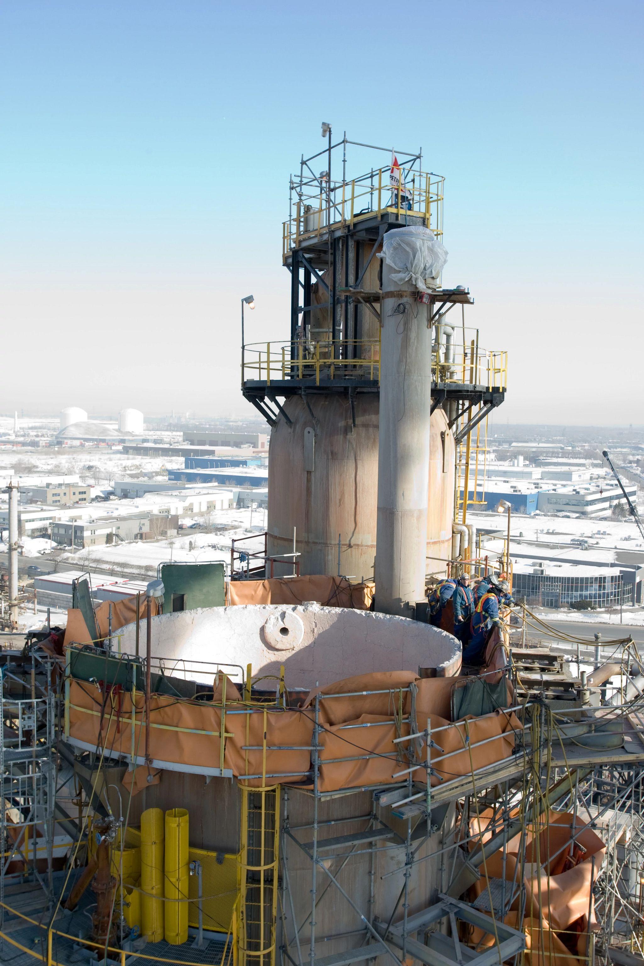 Montreal Refinery Upgrades