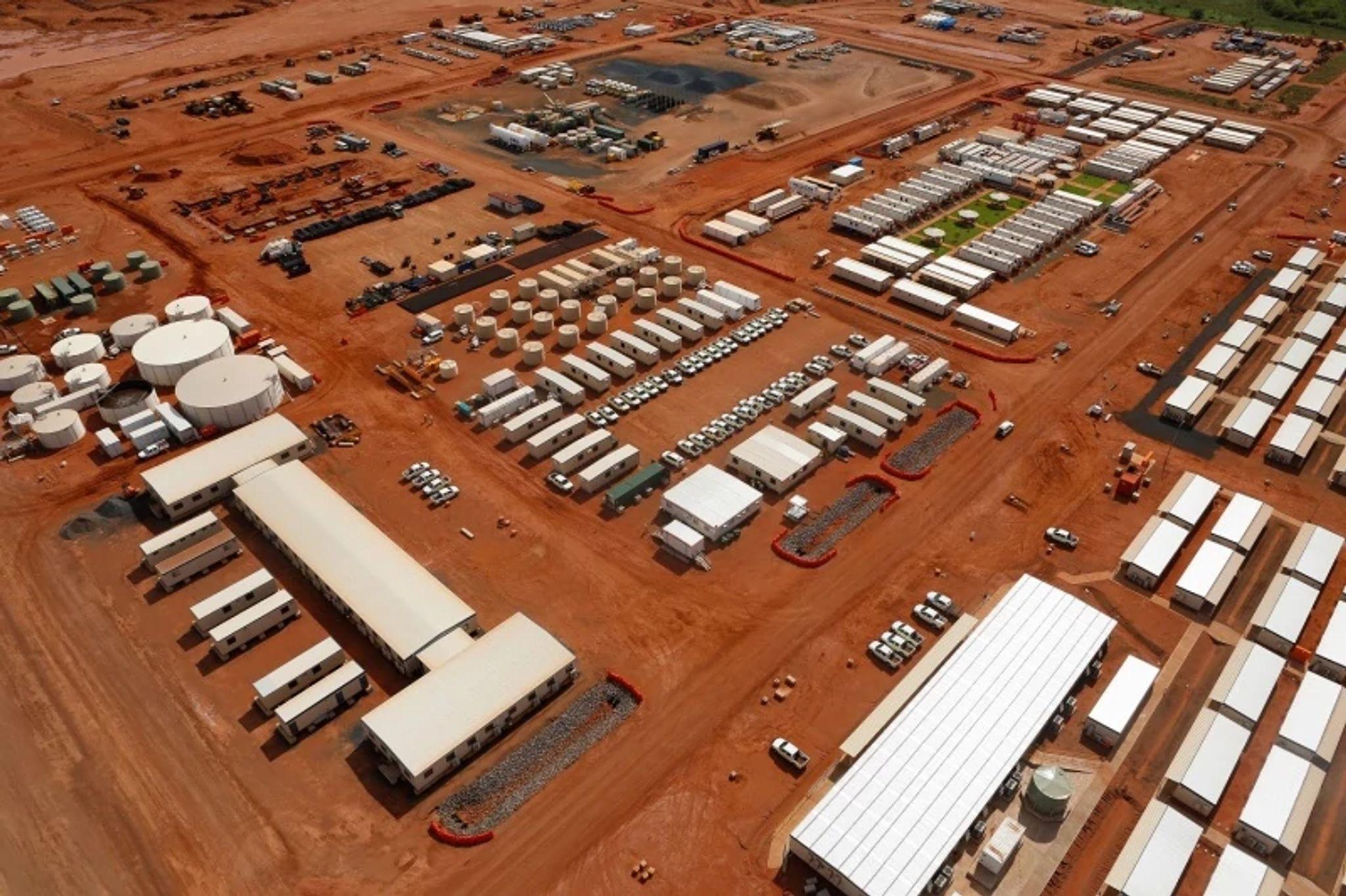 Wheatstone LNG Plant General Services