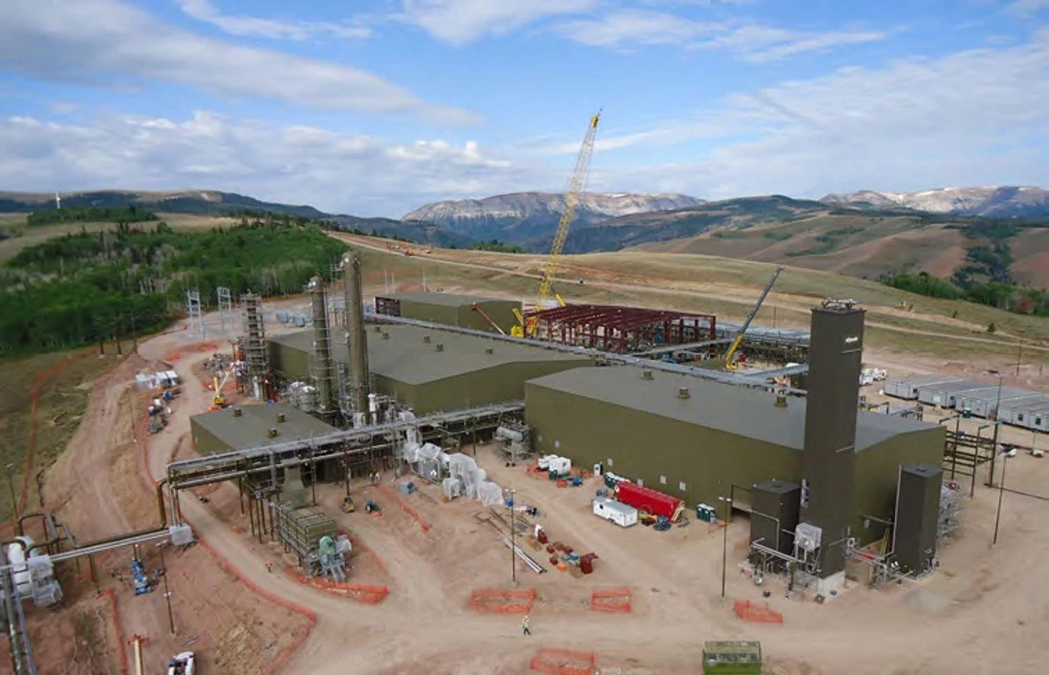 Riley Ridge Gas Processing Plant