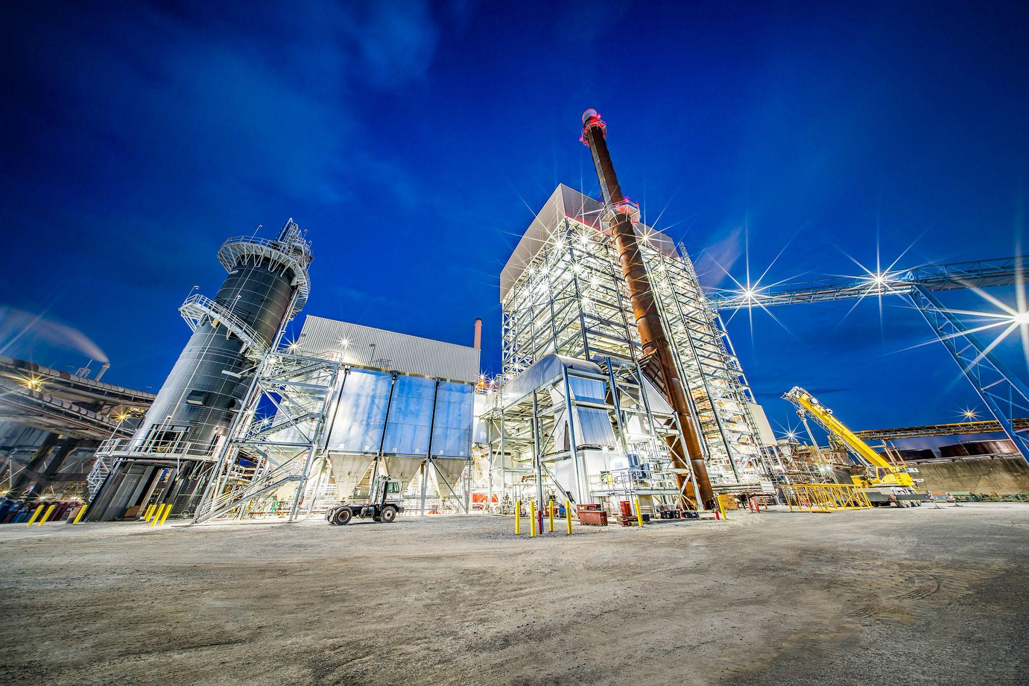Naheola Mill Biomass-Fueled Boiler