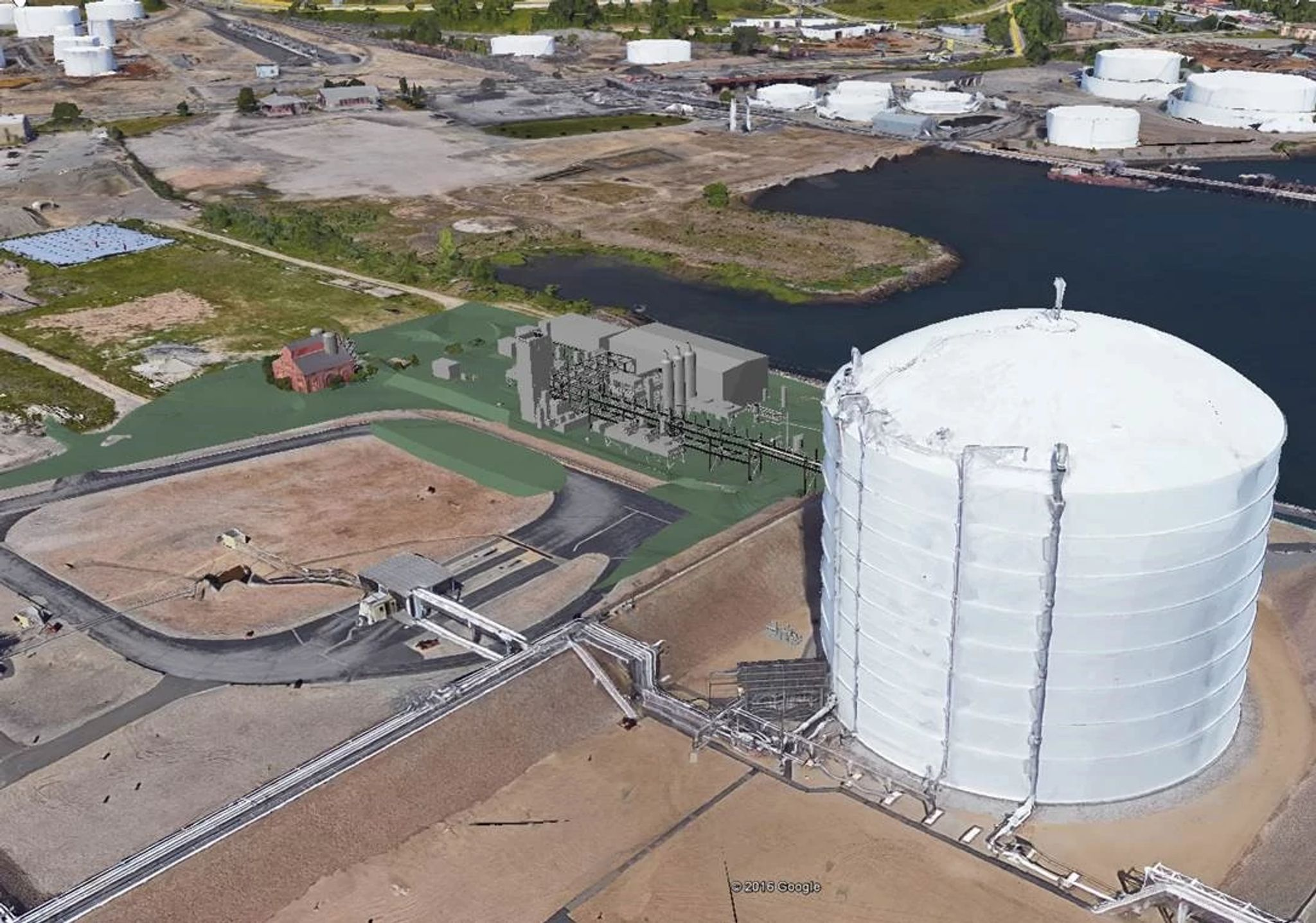 Fields Point LNG Facility