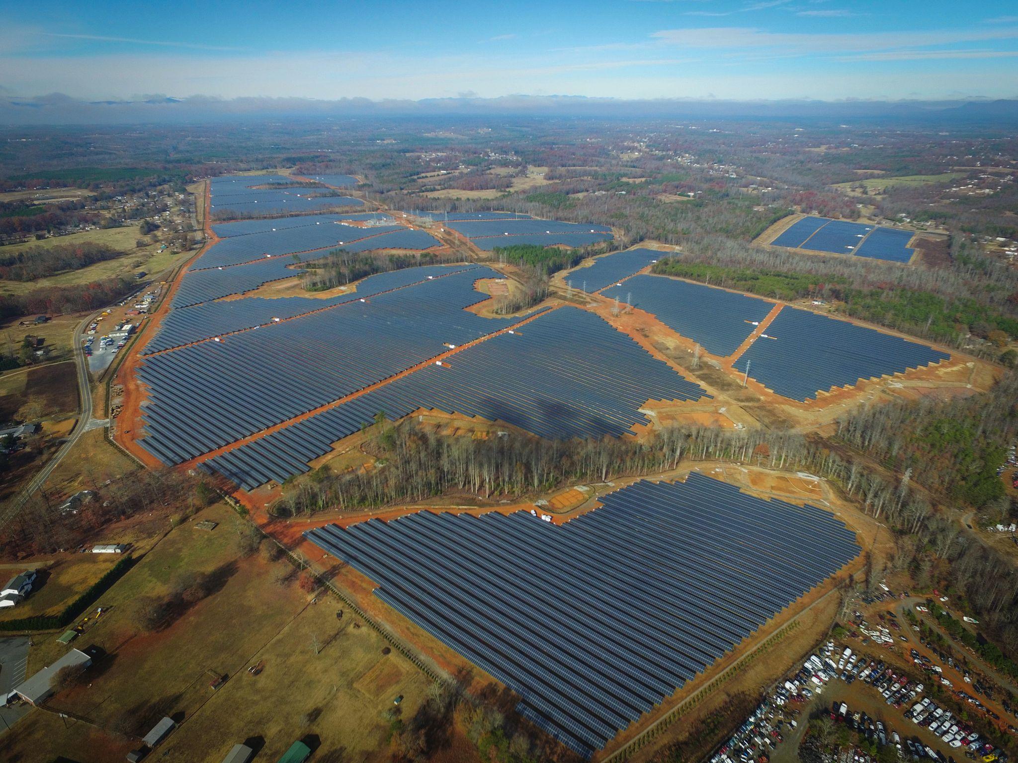 Rutherford 97 MW Solar Farm