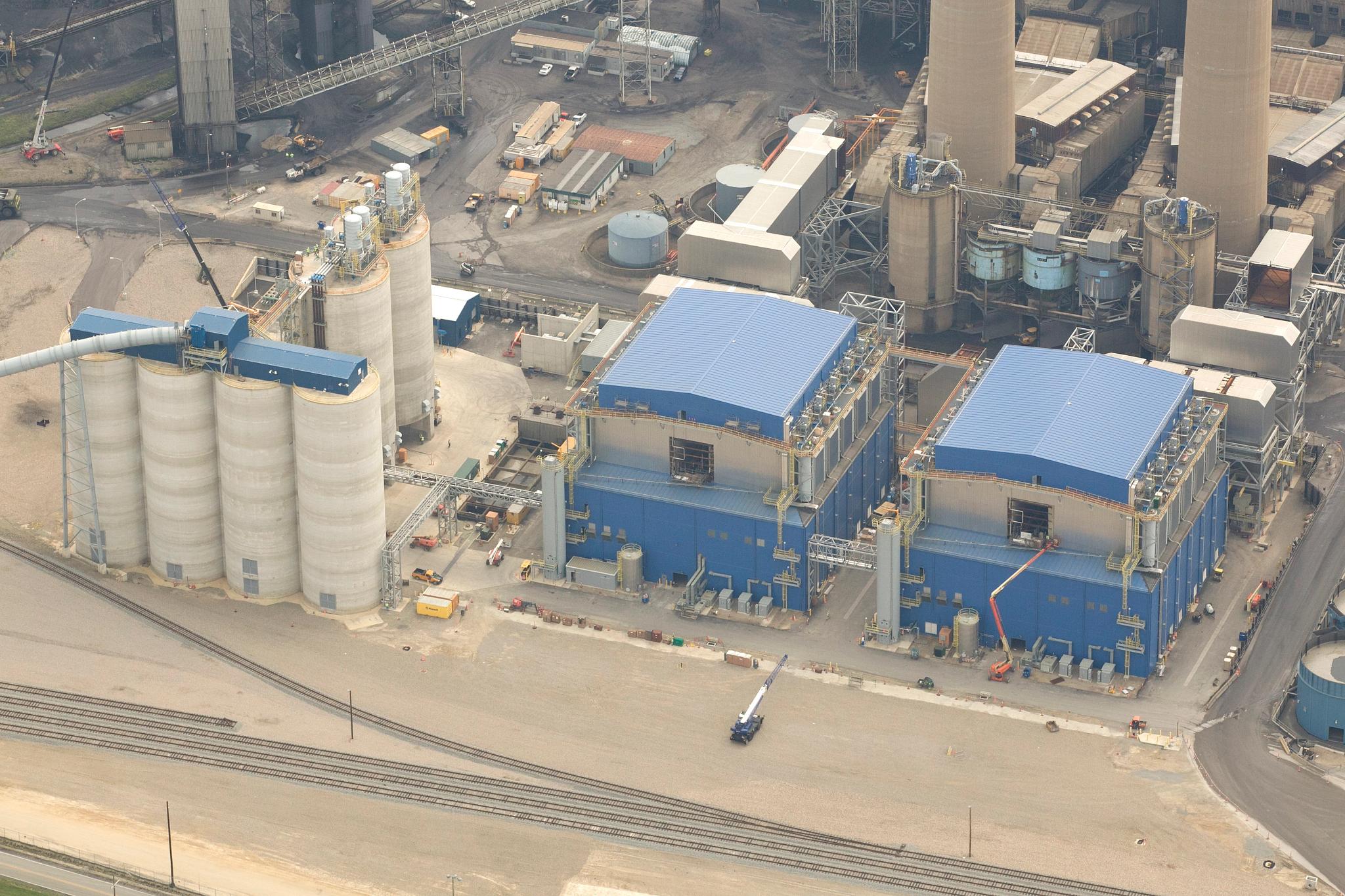 Homer City Units 1 and 2 Flue-Gas Desulfurization Retrofit