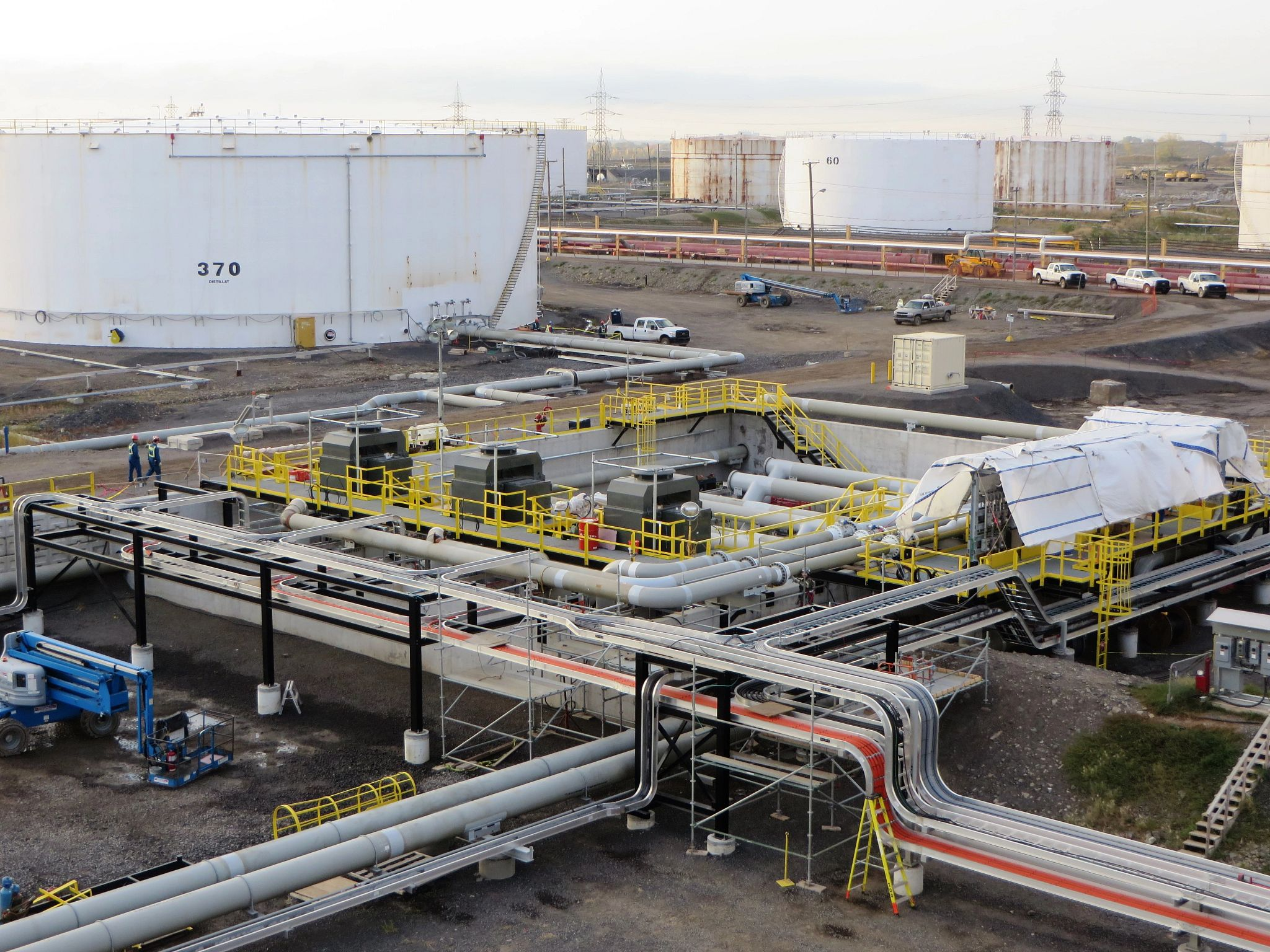 Montreal East Terminal Crude Upgrade Project