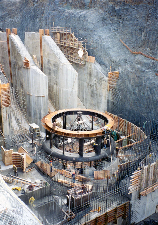 Thompson Falls Hydroelectric Powerhouse