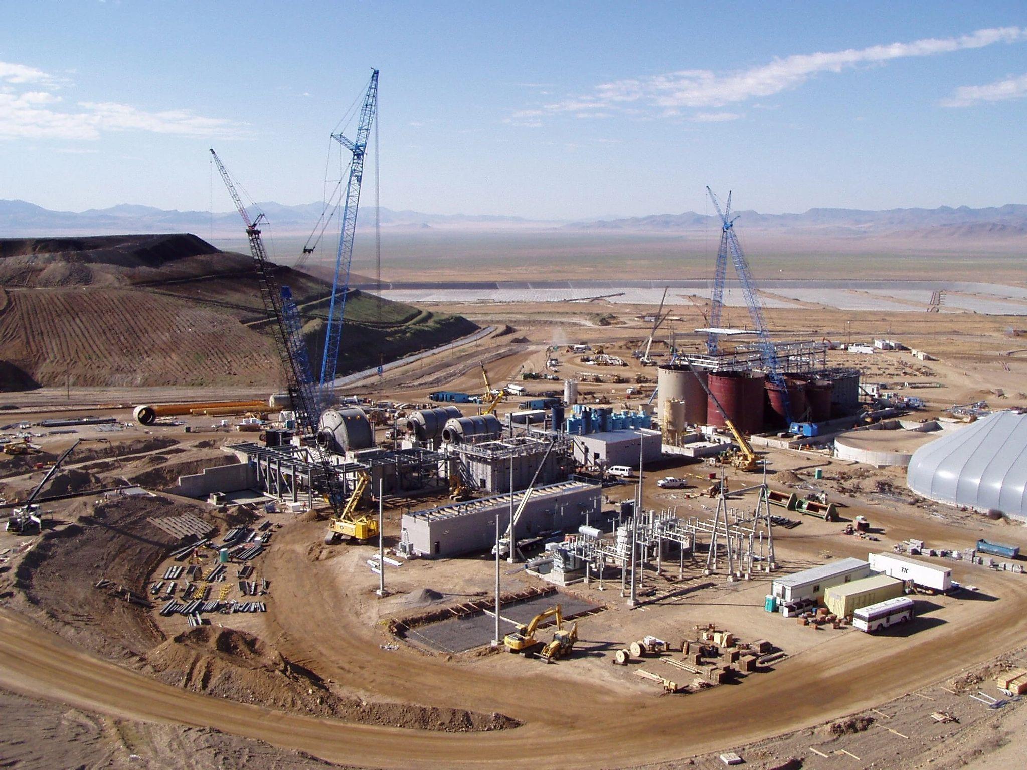 Phoenix Mine Copper Leach Expansion