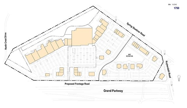 Photo 2 - Site plan after development