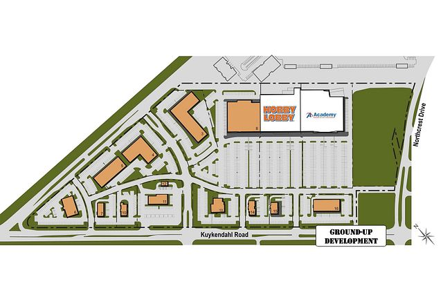Photo 2 - Development Site Plan