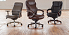 Bellamy Baylor and Hyland Executive Office Chairs