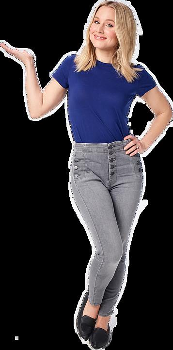 Kristen Bell Yoga Pose