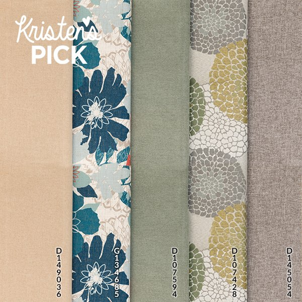 Shades of Verde swatch group - Kristen's Pick