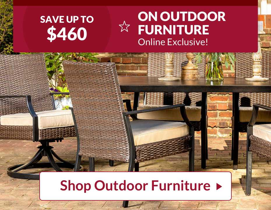 Compre muebles de exteriores