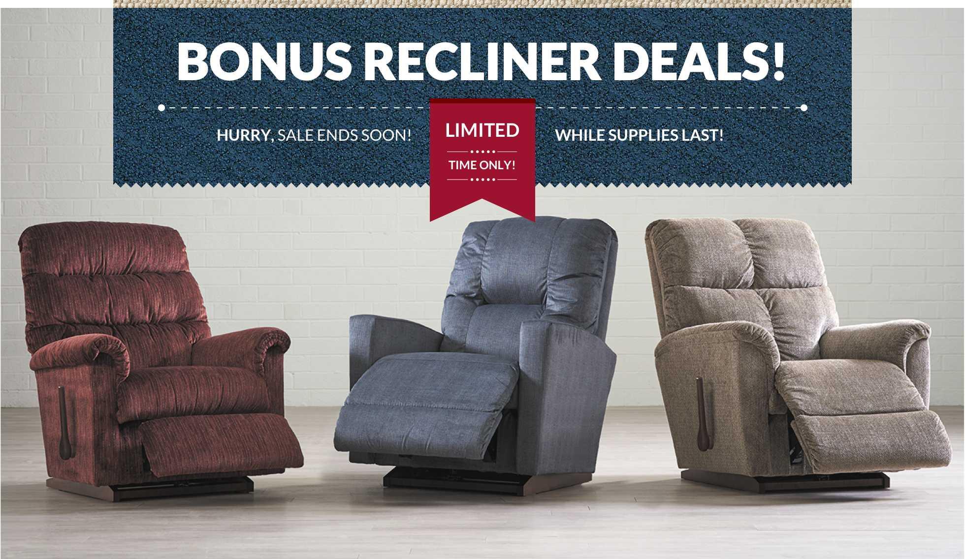 Bonus Recliner Deals!
