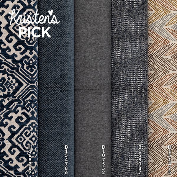 Moody Blue swatch group - Kristen's Pick