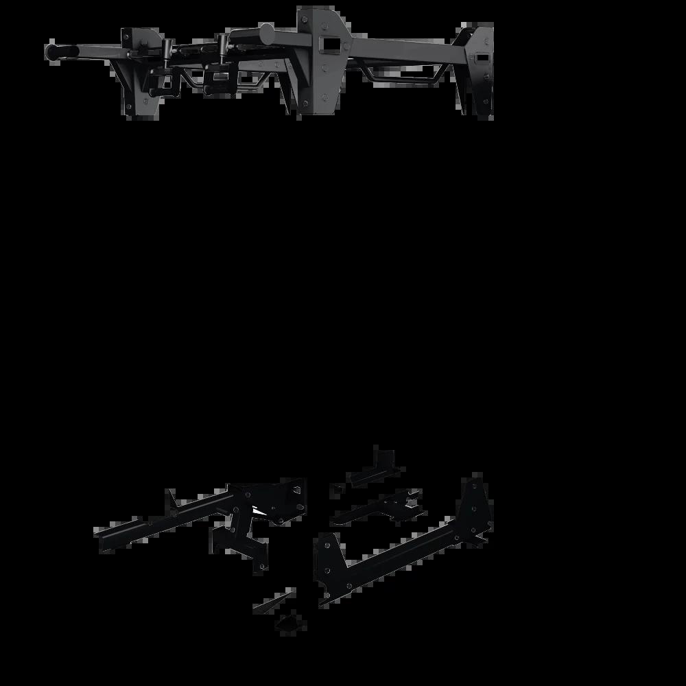 HS-HDE-power-rack Frame