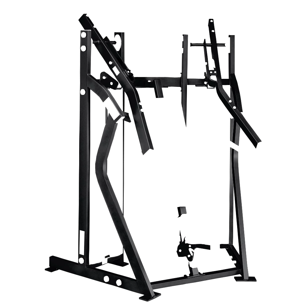 HS-MTS-iso-lateral-chest-press Frame