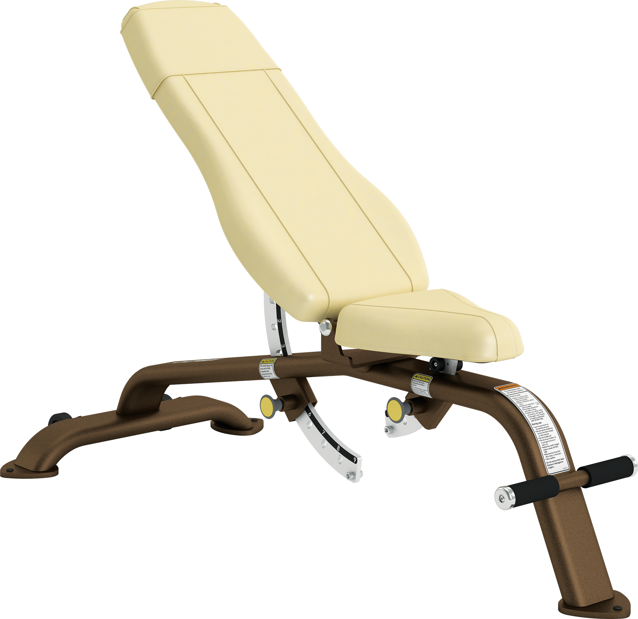 Adjustable -10º to 80º Bench