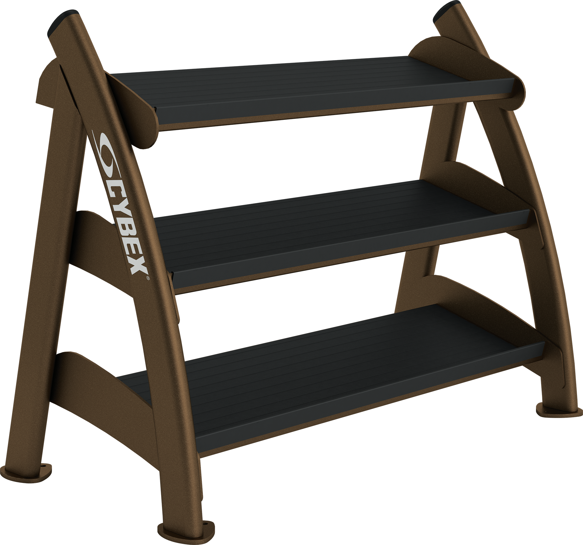 Small Three Tier Hex Dumbbell Rack