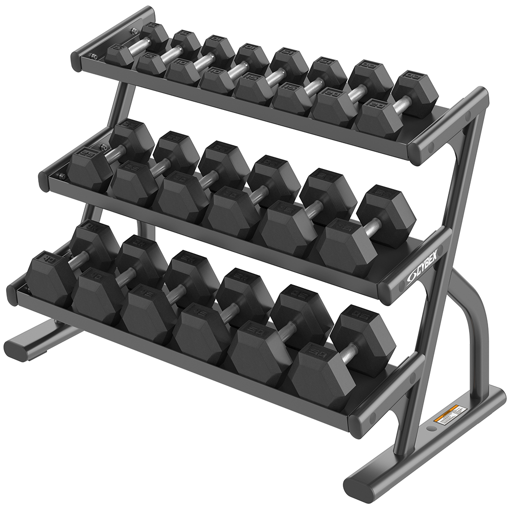 Ion Series 3-Tier Hex Dumbbell Rack