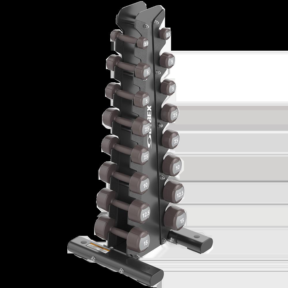 Vertical Dumbbell Rack de Ion Series