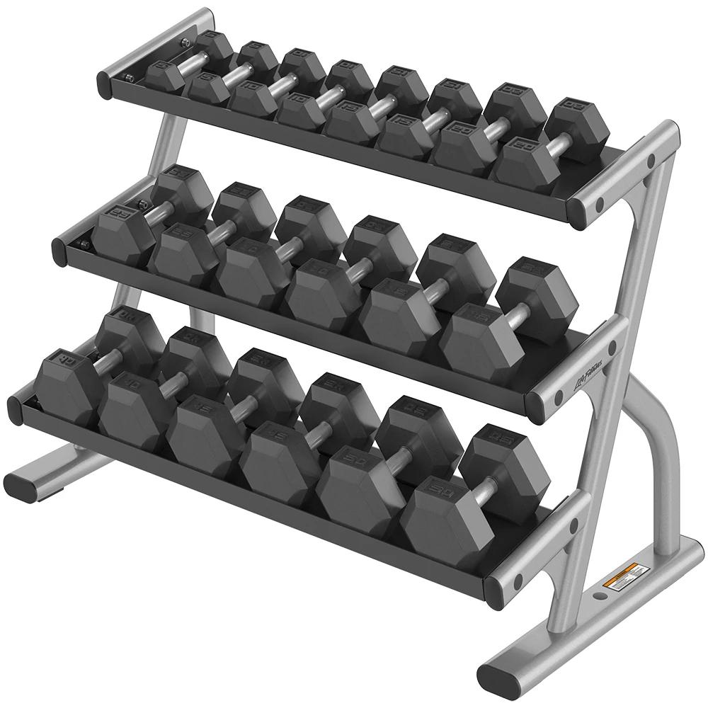 LF-OS-3-tier-hex-dumbbell-rack Base