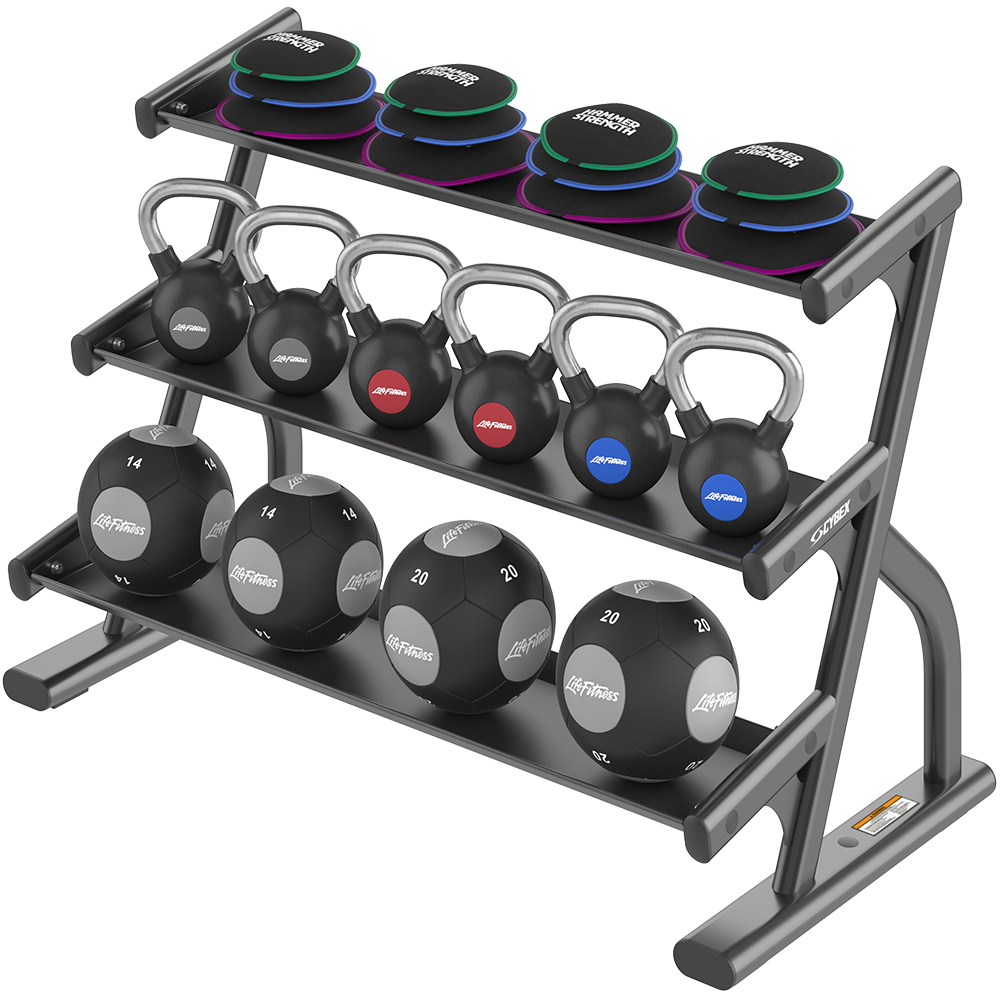 Ion Series 3 Tier Accessory Rack