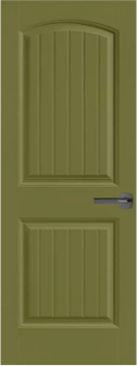 Cheyenne  Solid Core Door in Relentless Olive