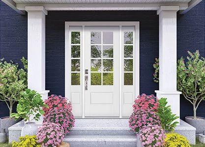 VistaGrande 3/4 Lite Exterior Door