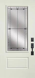 Belleville Hollister Fiberglass Door