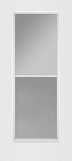 Glass Door with Vents