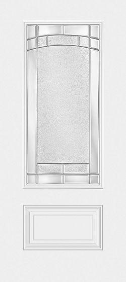 Sta-Tru Exterior Steel Security Door with Glass