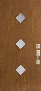 Belleville 3 Diamond Lite Fiberglass Door