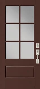 VistaGrande 3/4 Lite Fiberglass Door