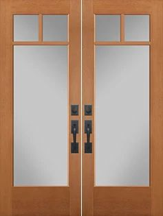 VistaGrande Full Lite Double Doors