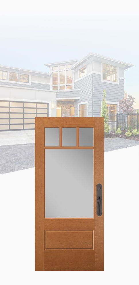 VistaGrande craftsman style exterior door